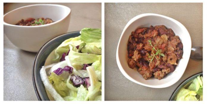 chili con carne recette simple