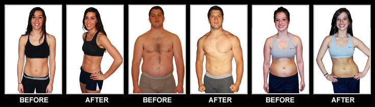 perdre du poids avant p90x
