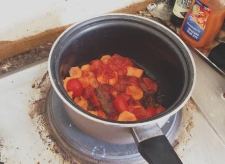 sauce bolognaise light - préparation
