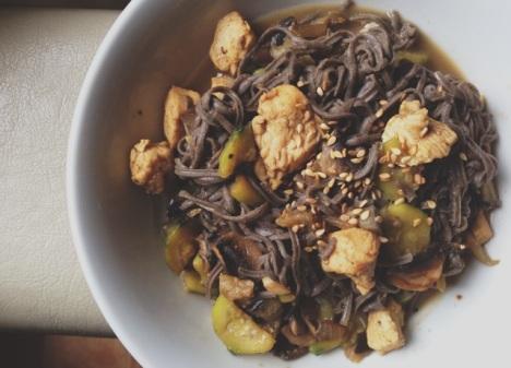 wok régime poulet lait de coco