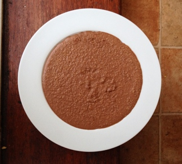 porridge avoine chocolat