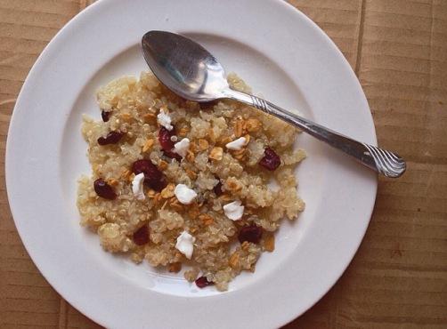 quinoa chevre